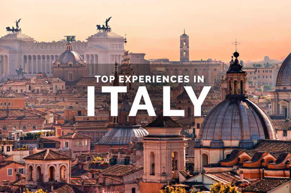 Top Experiences in Italy